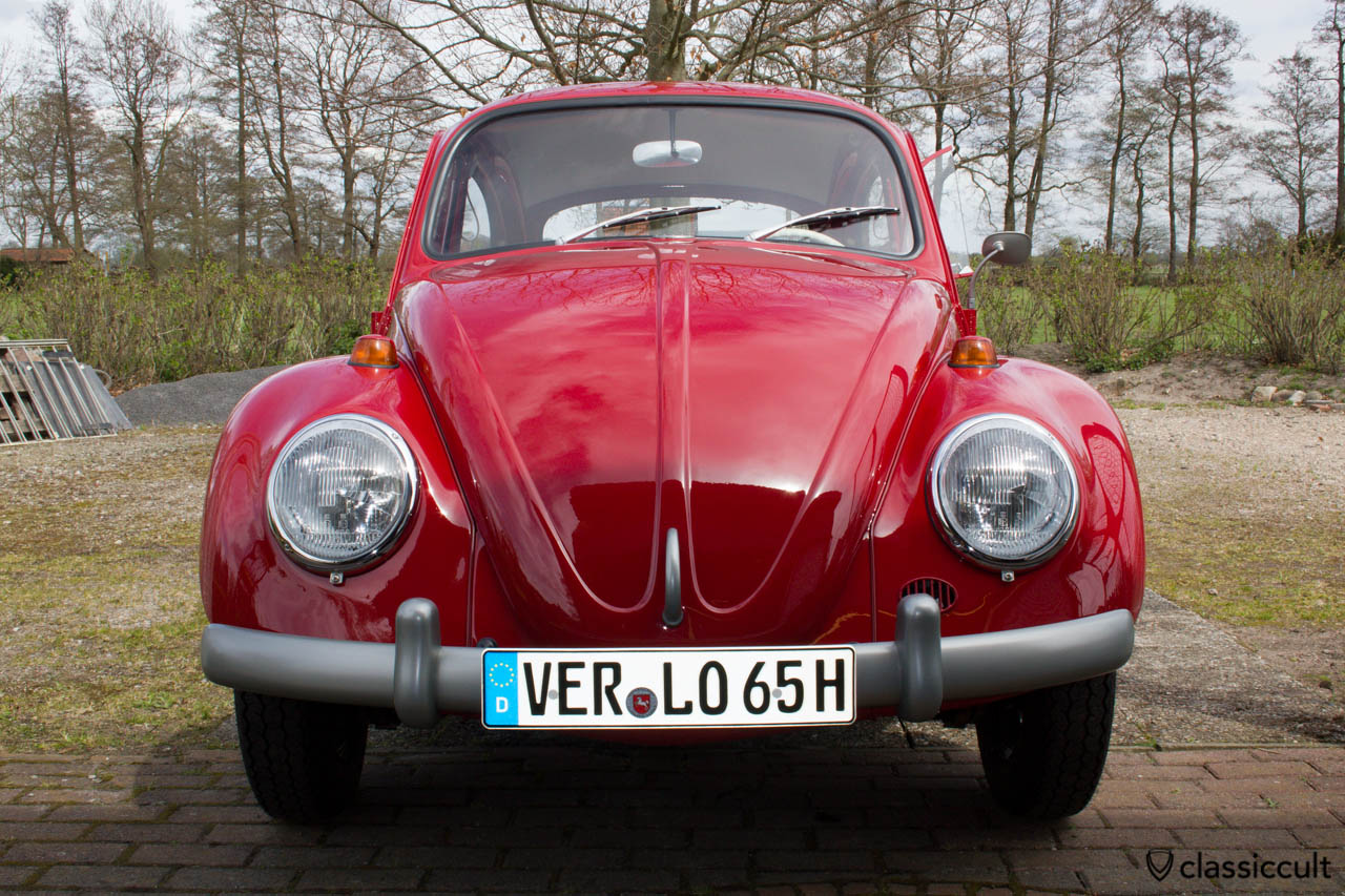 My 1965 1200 A VW Beetle after restoration