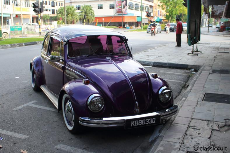 VW 1200 Beetle, near Kuching, Sarawak, Malaysia, May 4, 2014