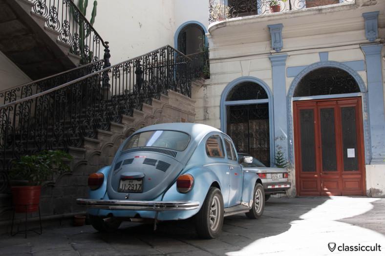 VW 1300 parking in Arequipa, Peru, May 8, 2013