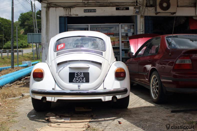 VW 1300 rear, Ranau, Sabah, Borneo, Malaysia, April 19, 2014