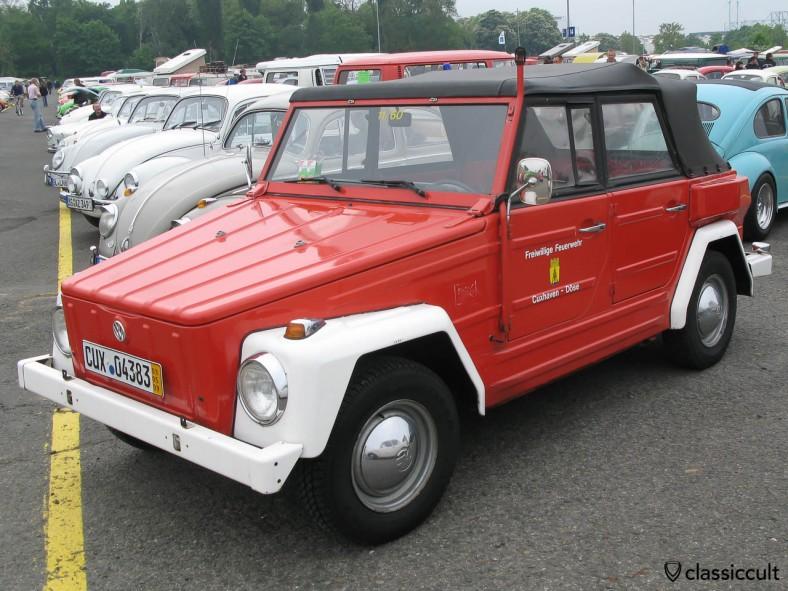VW 181 Feuerwehr (Fire Department) Cuxhaven Doese
