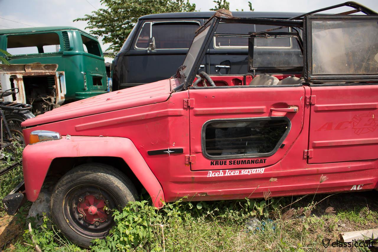 VW 181 with look through door Banda Aceh Sumatra