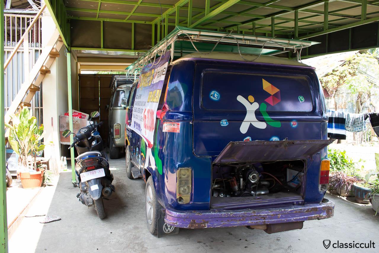 VW Bay Windows simPATI Telkomsel Promotion Bus