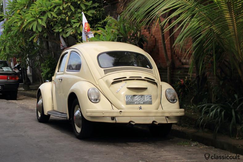 VW 1303 rear, Denpasar, Bali, Indonesia, March 10, 2014