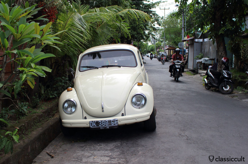 VW 1303 front, Denpasar, Bali, Indonesia, March 10, 2014