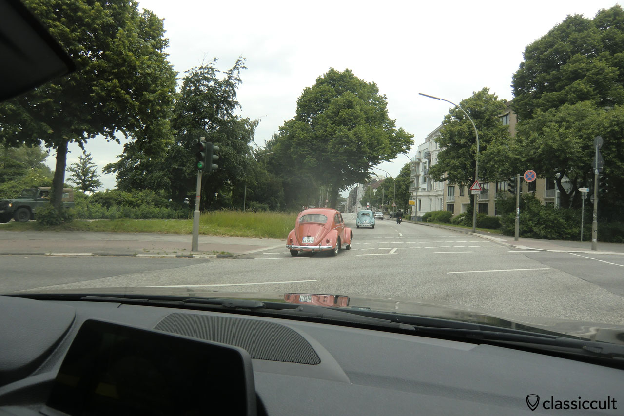 VW Beetles at Alster Hamburg, 2014-06-01, 06:09