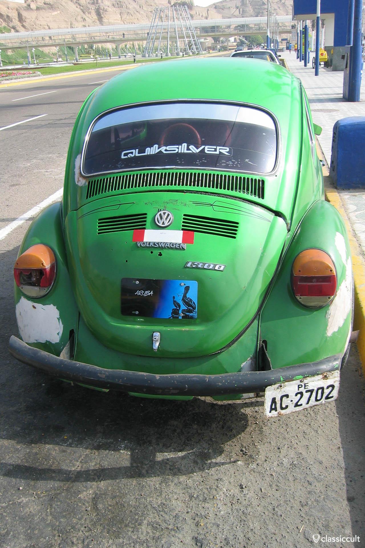 VW Bug 1300 Quicksilver Beetle Costa Verde Lima Peru
