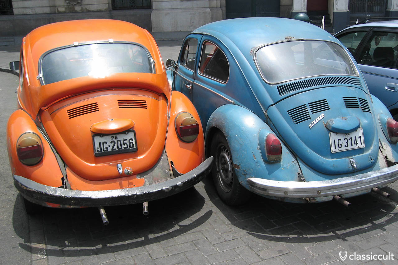VW Bug 1300 and Volkswagen Beetle Lima Peru