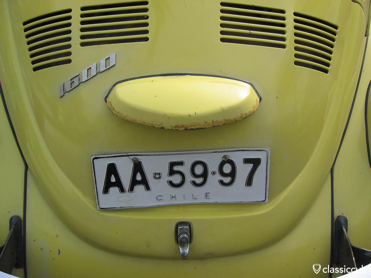VW Bug 1600 Arica Chile
