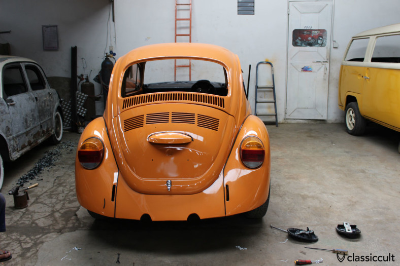 VW Bug restoration, Bali, Indonesia