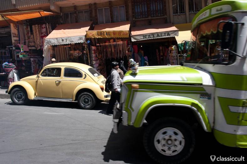 VW Bug La Paz Bolivia