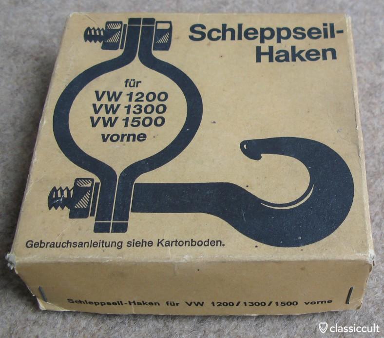 original vintage Perohaus tow hook box