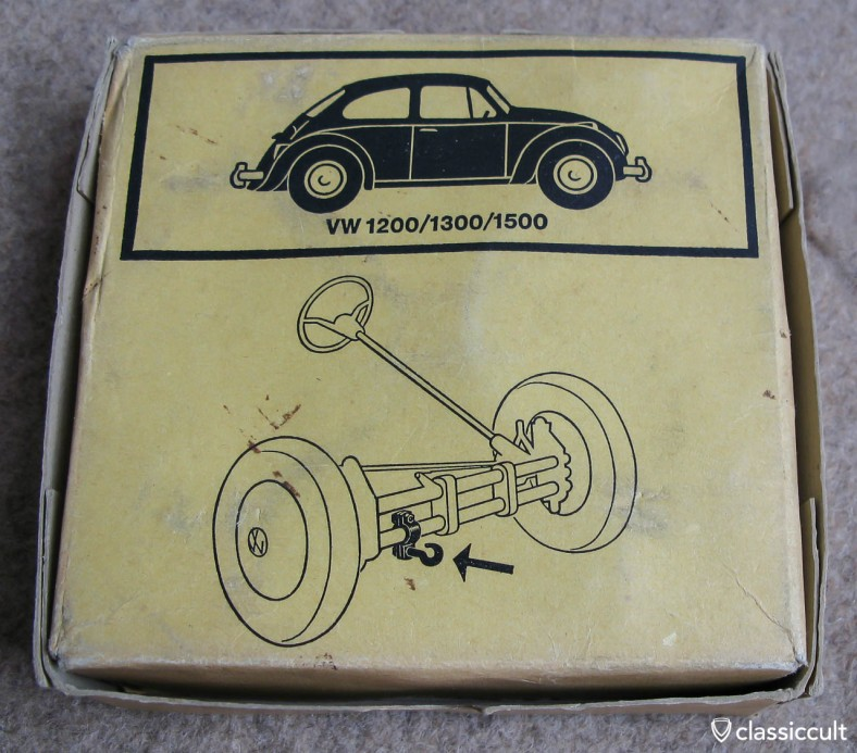 New old stock VW Bug tow hook made by Perohaus for VW 1200, 1300 and 1500.