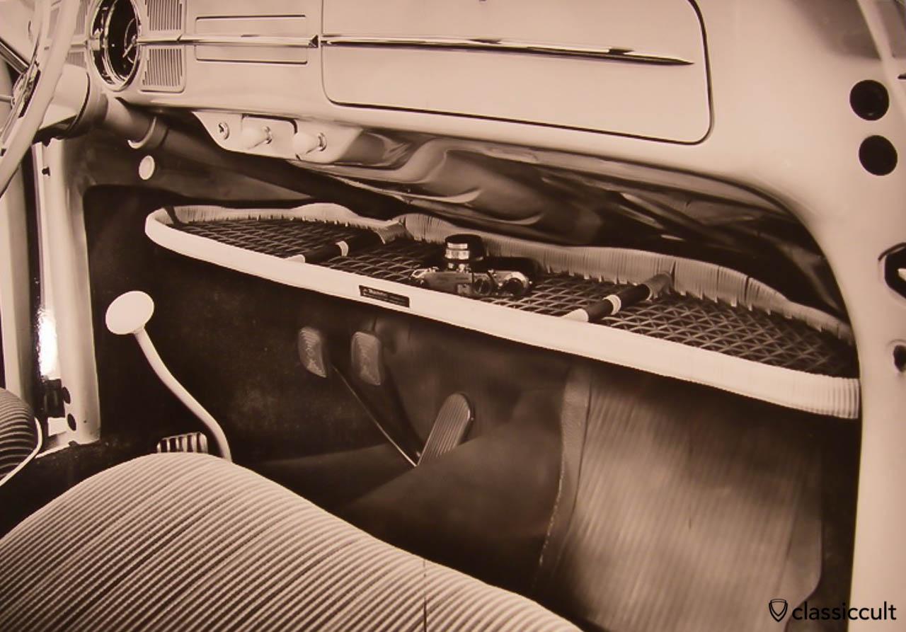 VW Bug parcel tray Ra-Bambus 1960