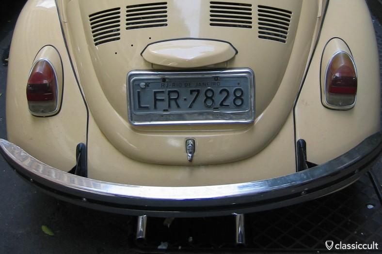 VW Bug Rio de Janeiro Brazil