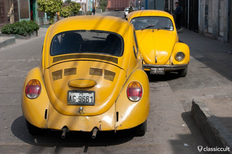 VW Bug and Volkswagen Beetle Lima Peru