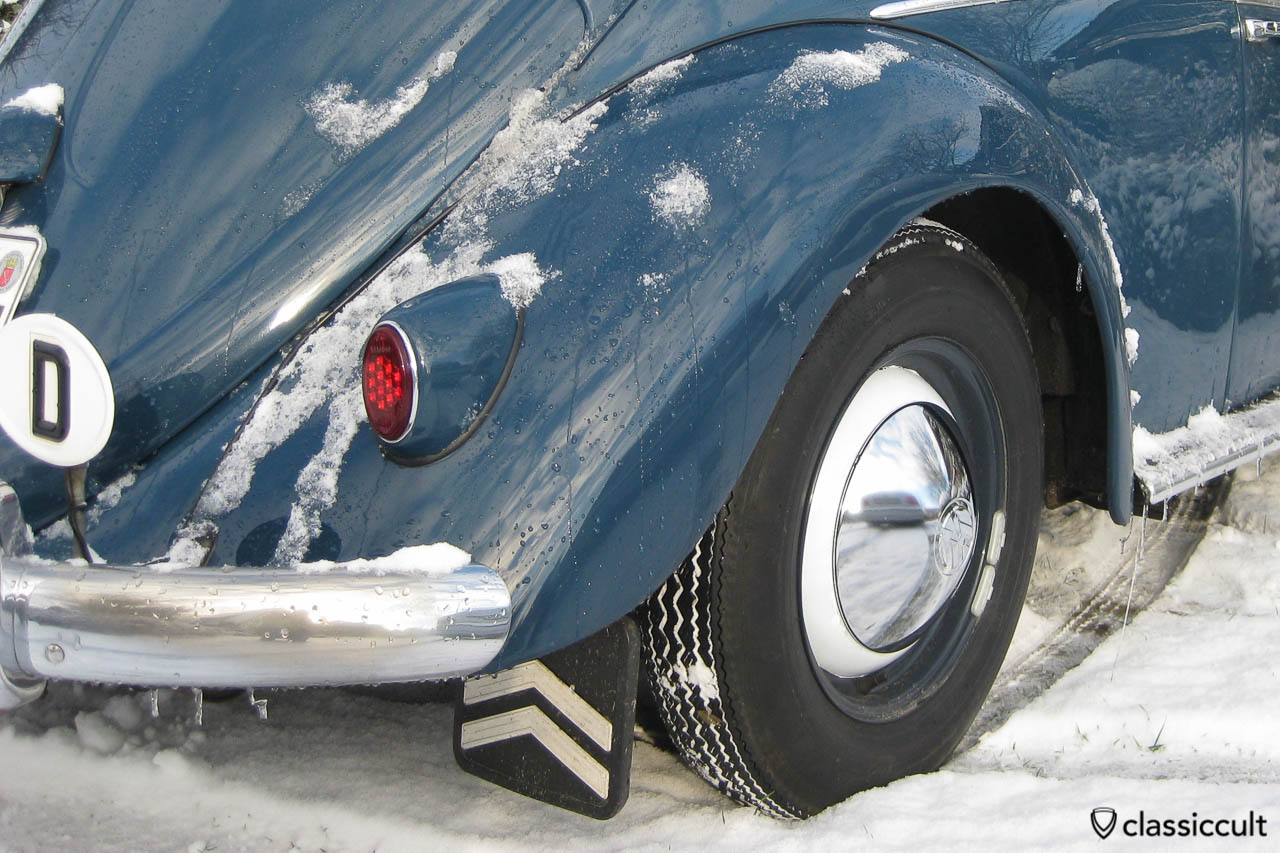 My VW 1959 Beetle, Winter 2012
