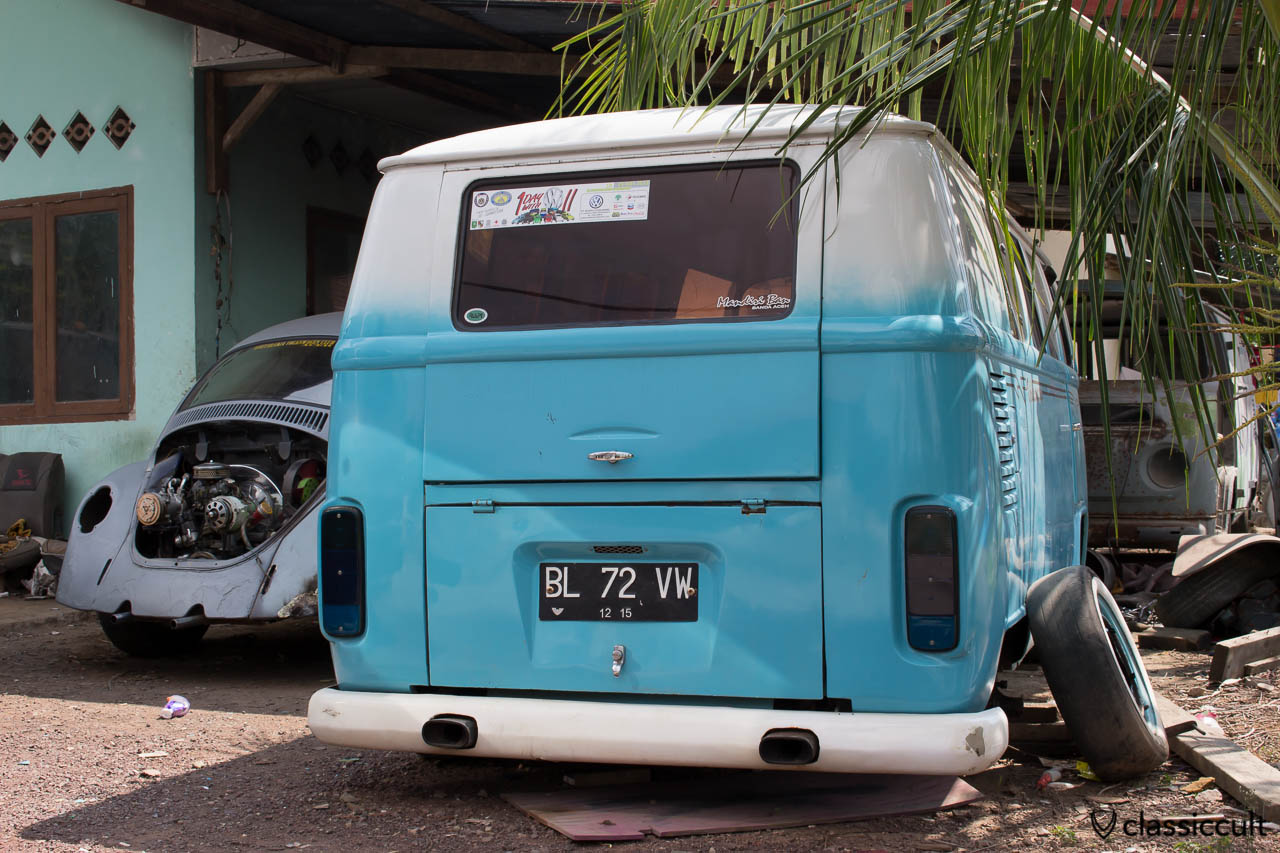 VW Bus and Bug Restoration Aceh Indonesia