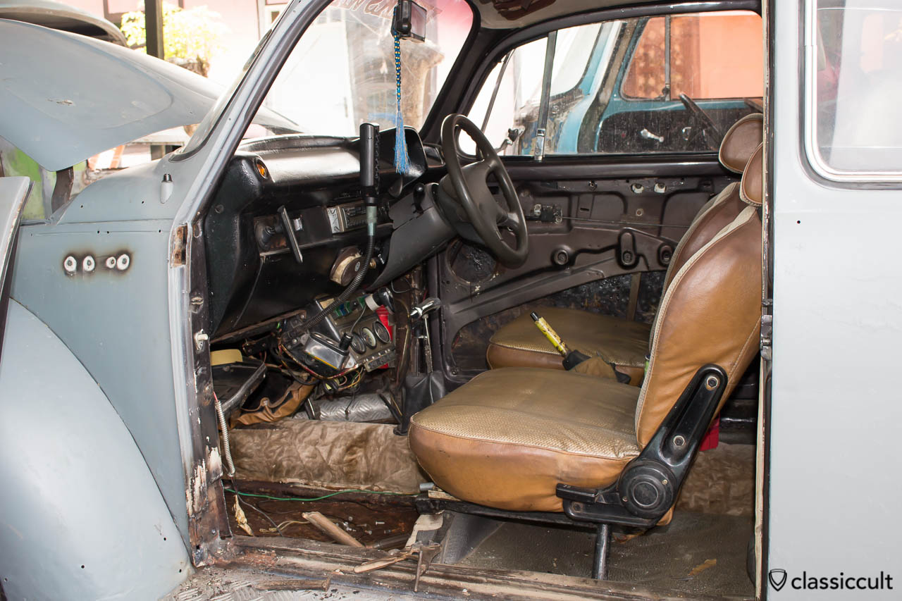 VW Bus and Bug Restoration Aceh Indonesia - inside