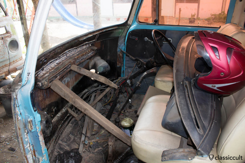 VW Bus and Bug Restoration Aceh Indonesia - dash