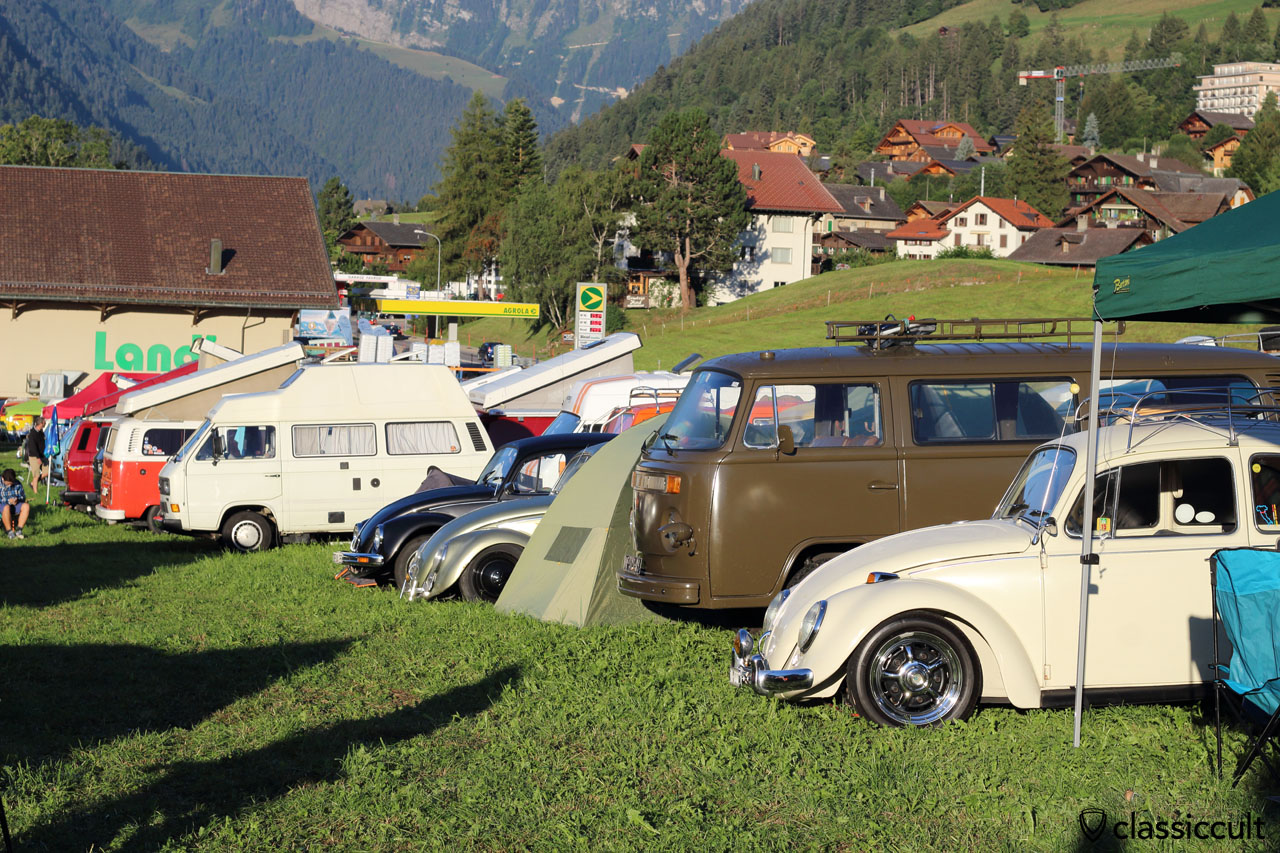 VW Beetle, T2, T3 Bus Camping