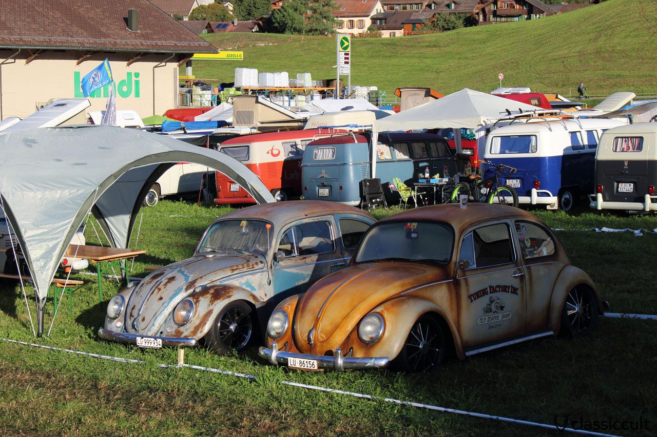 slammed VW Bugs