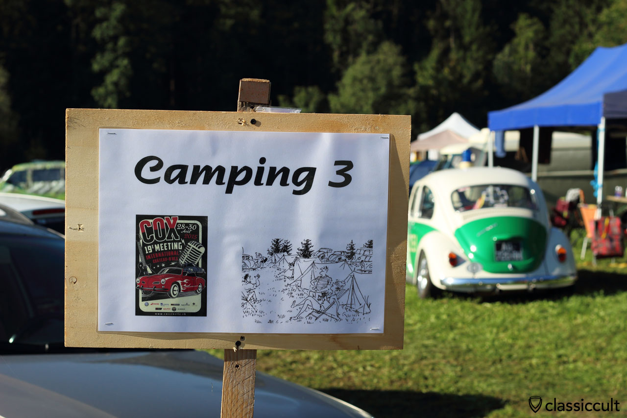 Camping 3 sign