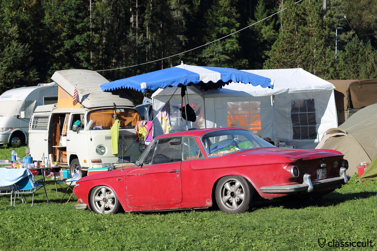 low Karmann Ghia Typ 34 at Camping #3