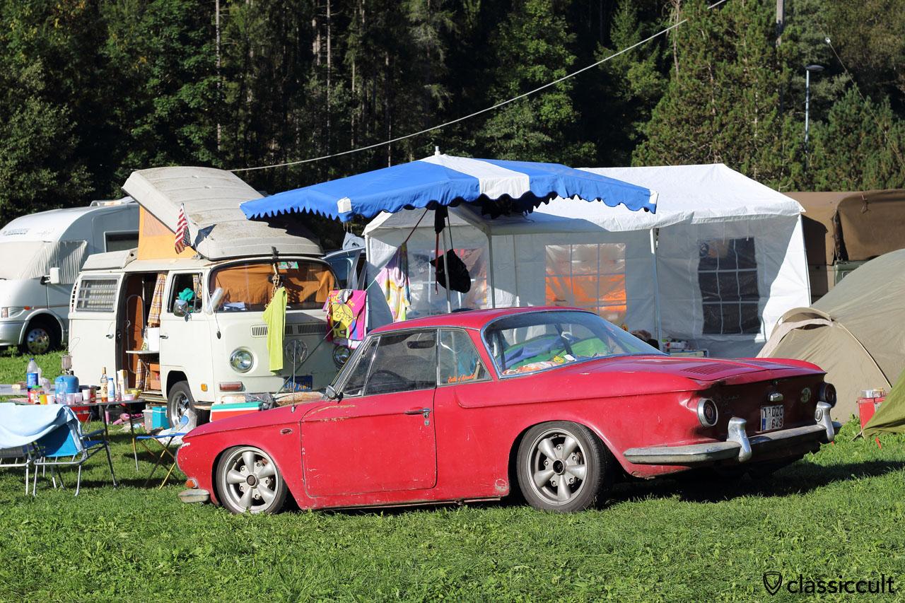 low Karmann Ghia Typ 34 at Camping #3