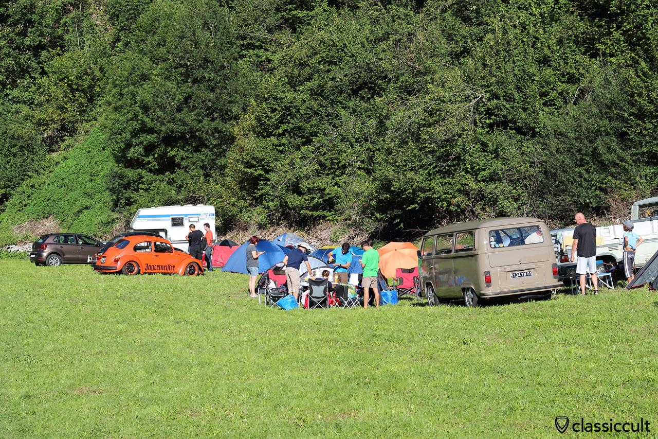 VW Fans at Camping #3