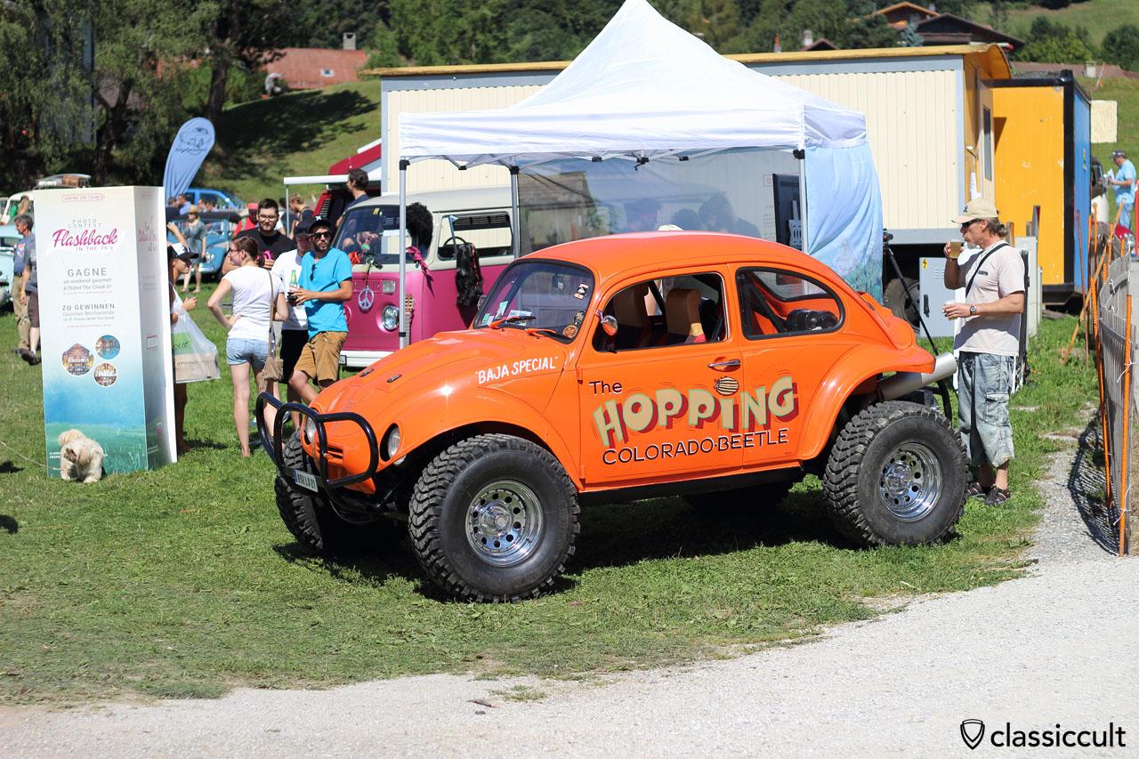 The HOPPING CLORADO VW BAJA BEETLE