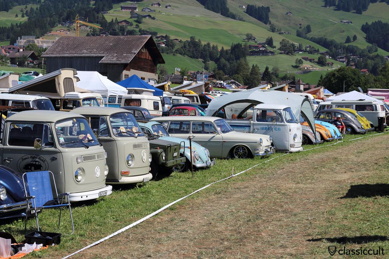 Château-d'Oex VW Show 2015, 12:40 p.m.