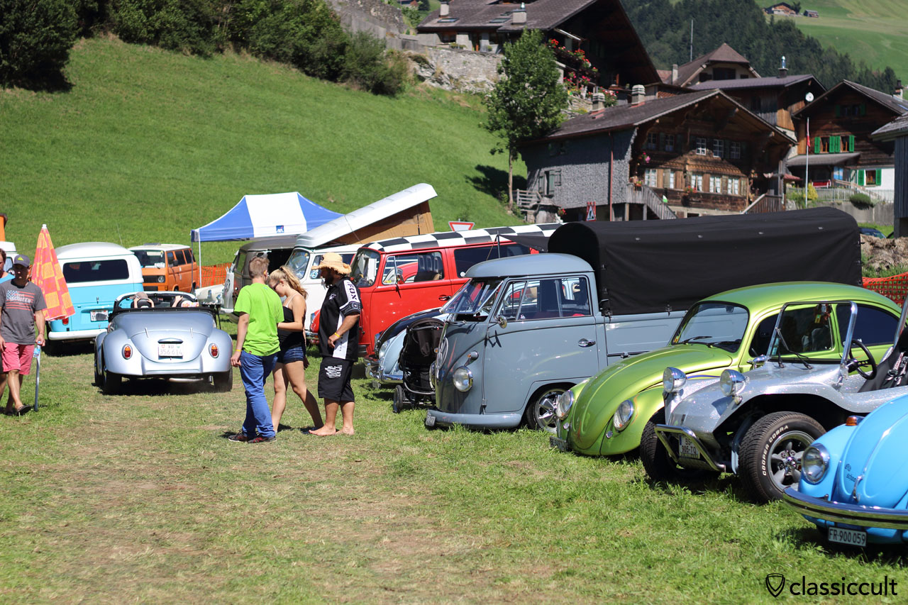 Chateau d Oex VW Meeting 2015