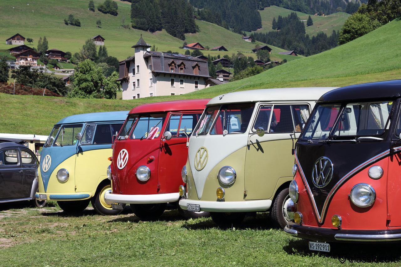 T1 Split, Meeting int. VW de Château-d'Oex 2015