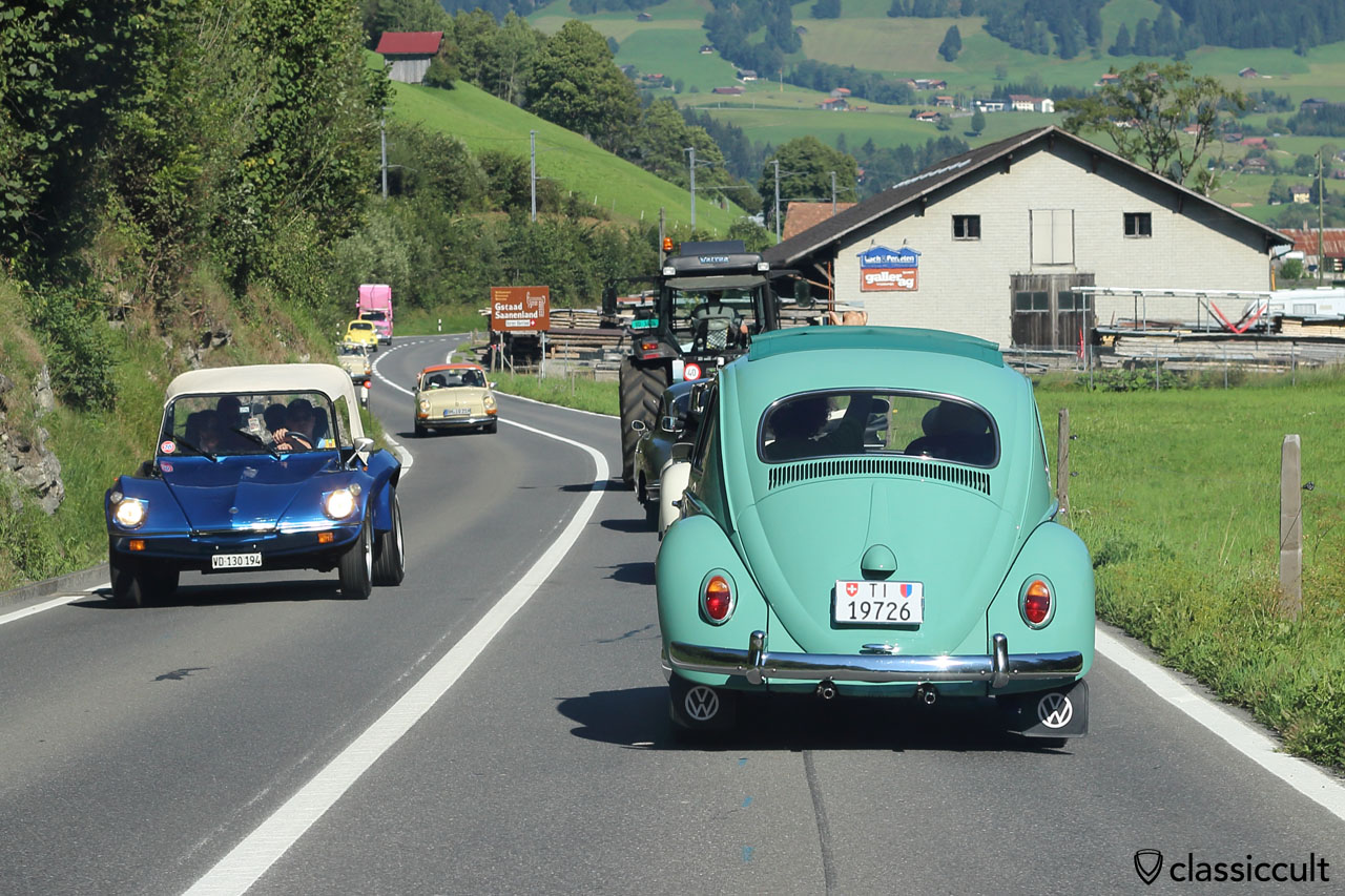 Ragtop Beetle and Buggy, Pays-d'Enhaut, Château-d'Oex