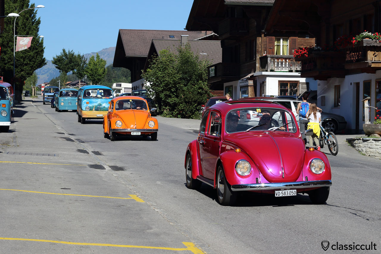 Pays-d'Enhaut Rally, Château-d'Oex VW Meeting 2015