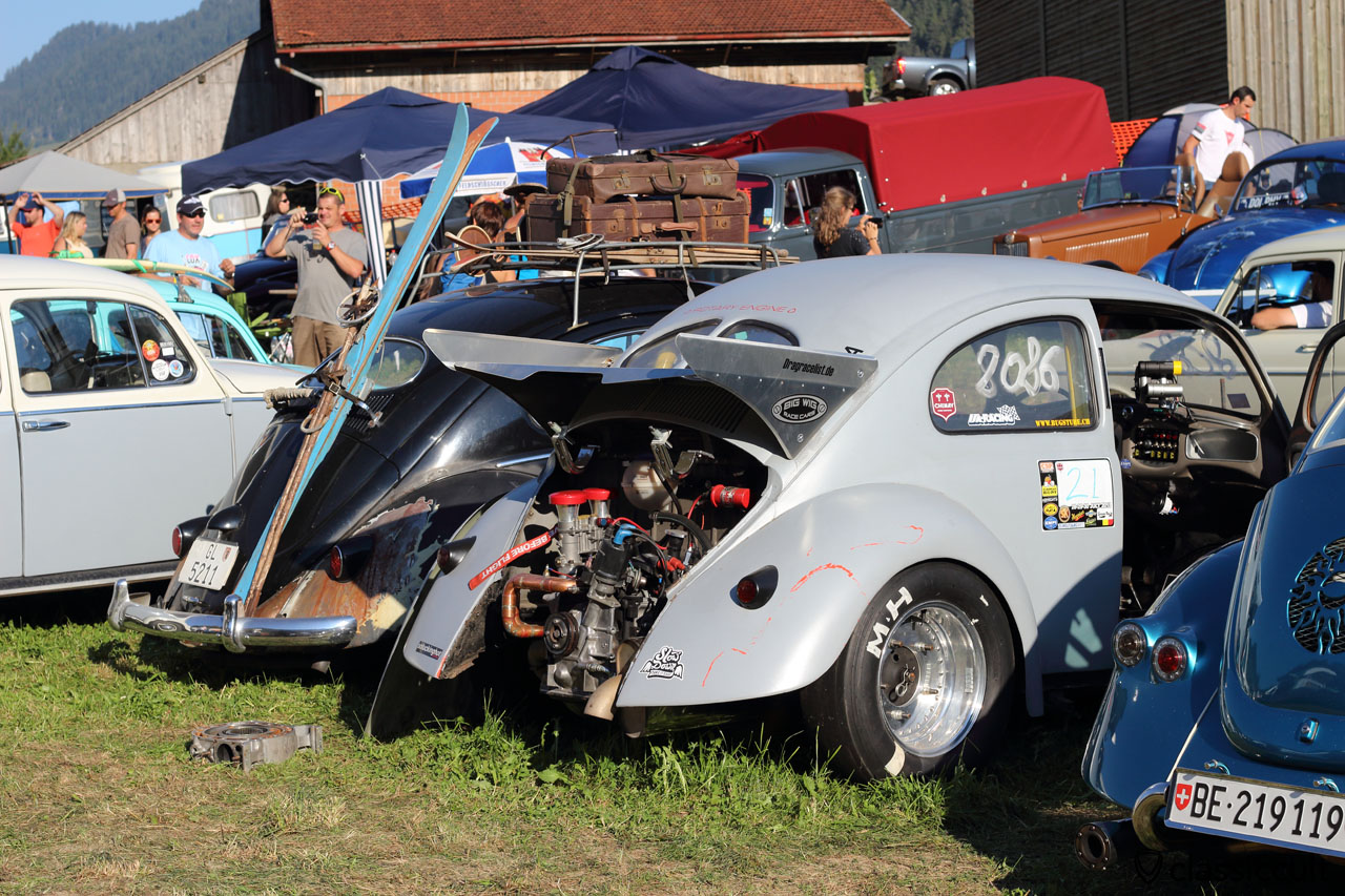 Drag Race VW Beetle
