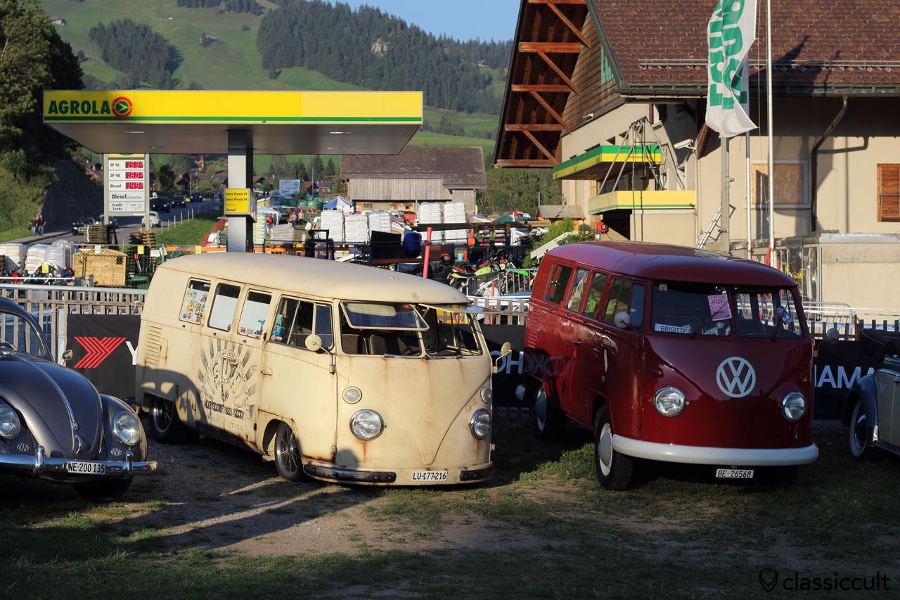 VW T1 Kombi lowered and VW Kombi original