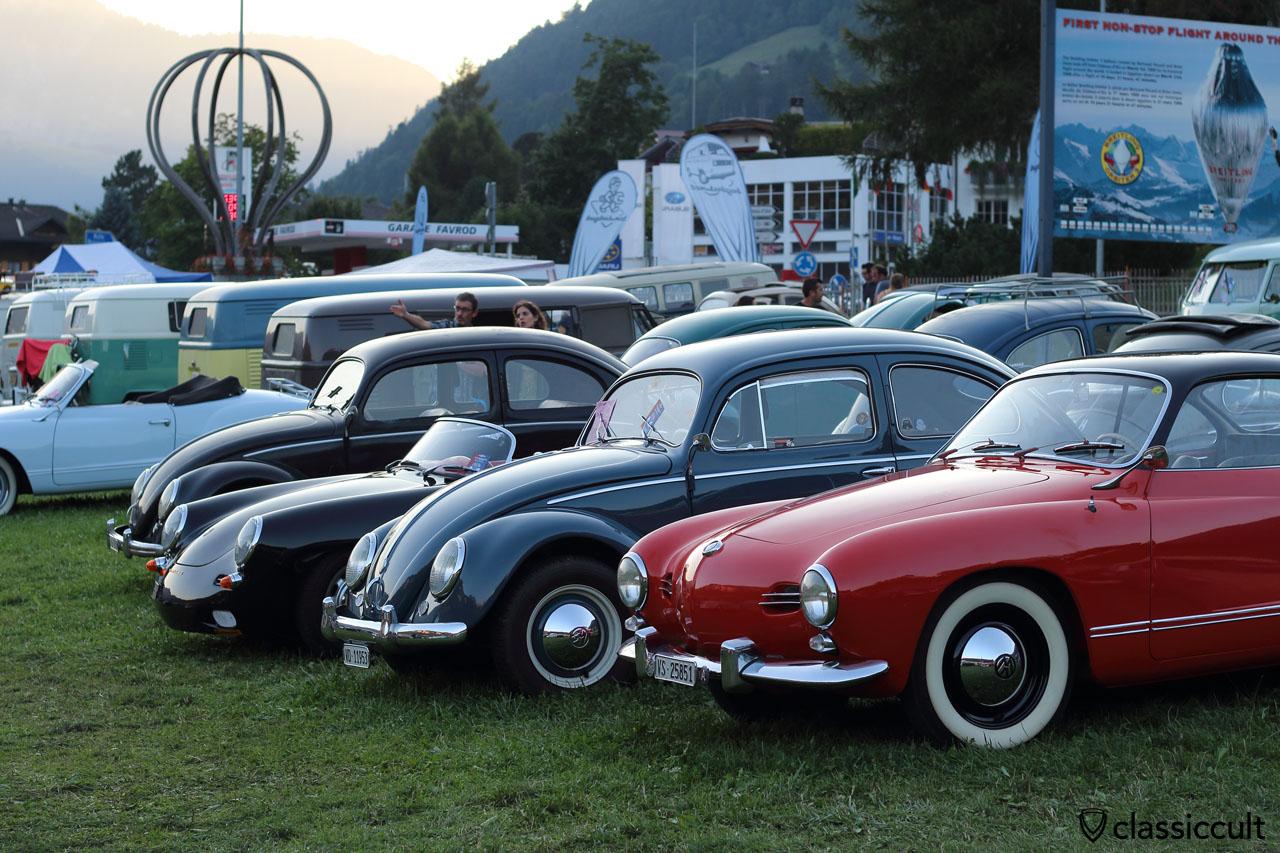 #19 VW Meeting Château-d'Oex 2015, 7:41 p.m., superb light