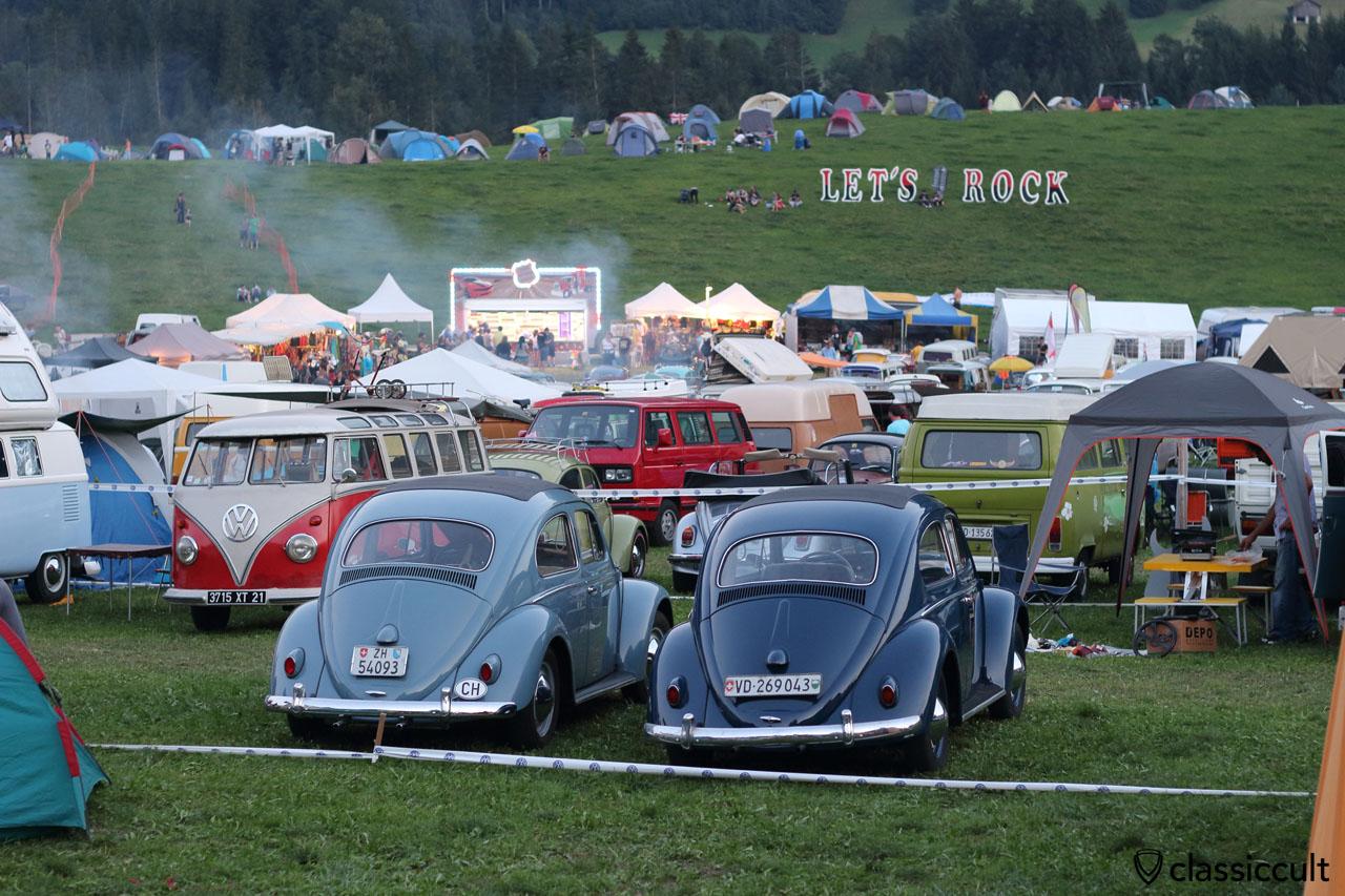8:21 p.m. BBQ time, VW meeting Château-d'Oex