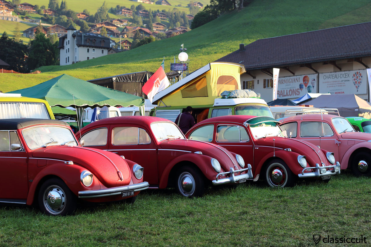 VW Beetles, Château-d'Oex, 2015, 7:45 a.m.
