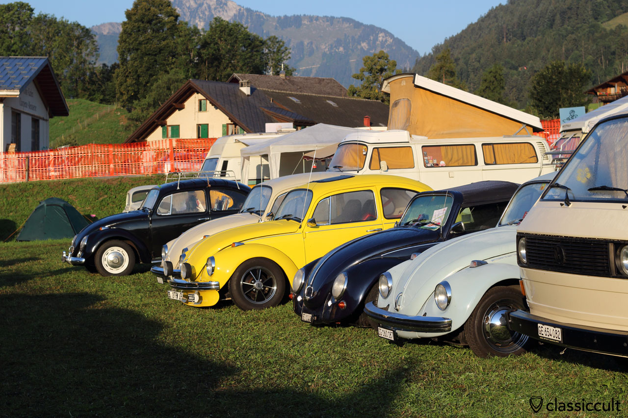 Château-d'Oex, VW Meeting, Switzerland, 2015