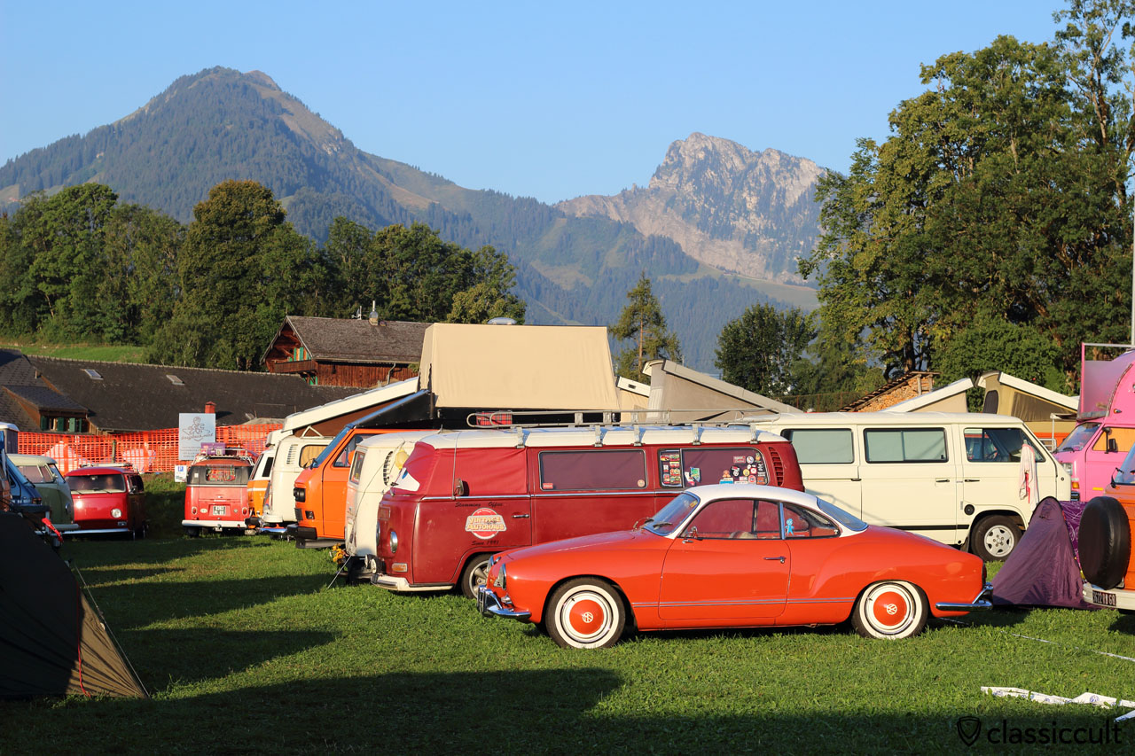 Château-d'Oex, VW Meeting, Switzerland