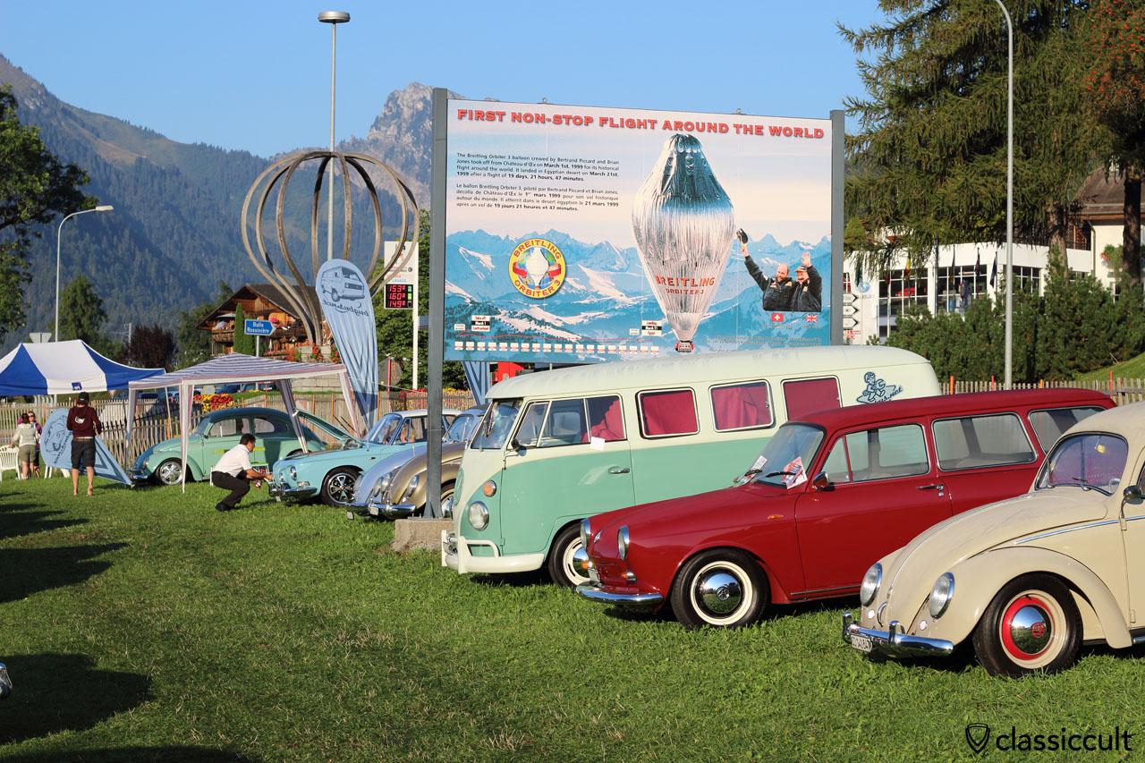 Meeting VW de Château-d'Oex, 30th August 2015