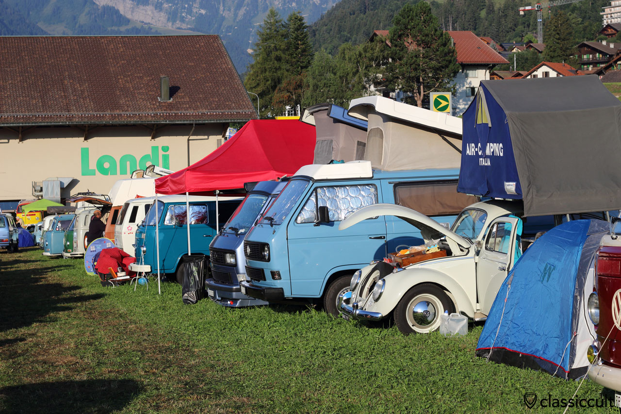 Air Camping Italia, Château-d`Oex VW meeting 2015