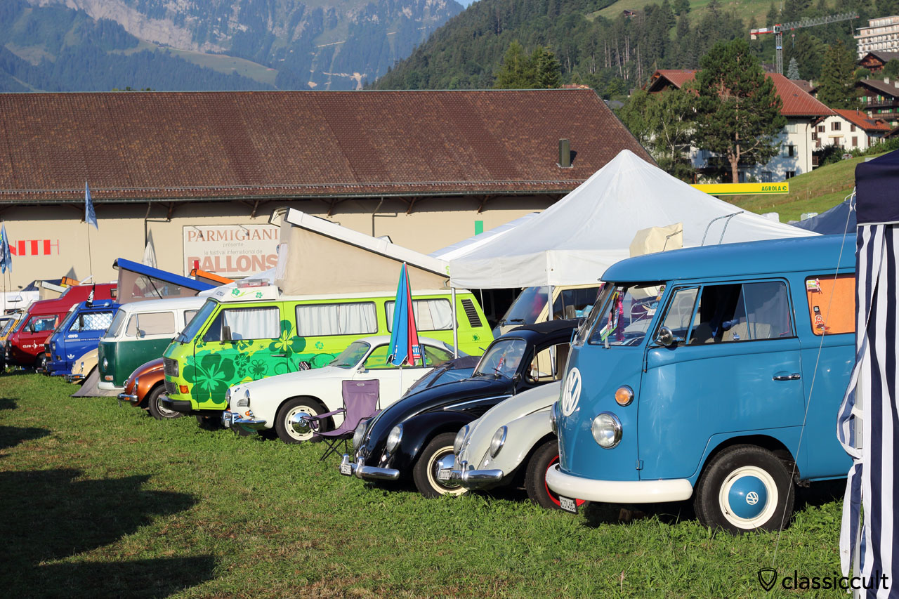 Meeting int. VW de Château-d'Oex 2015