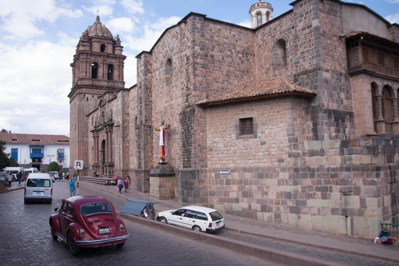 VW Escarabajo in Cusco, Peru
