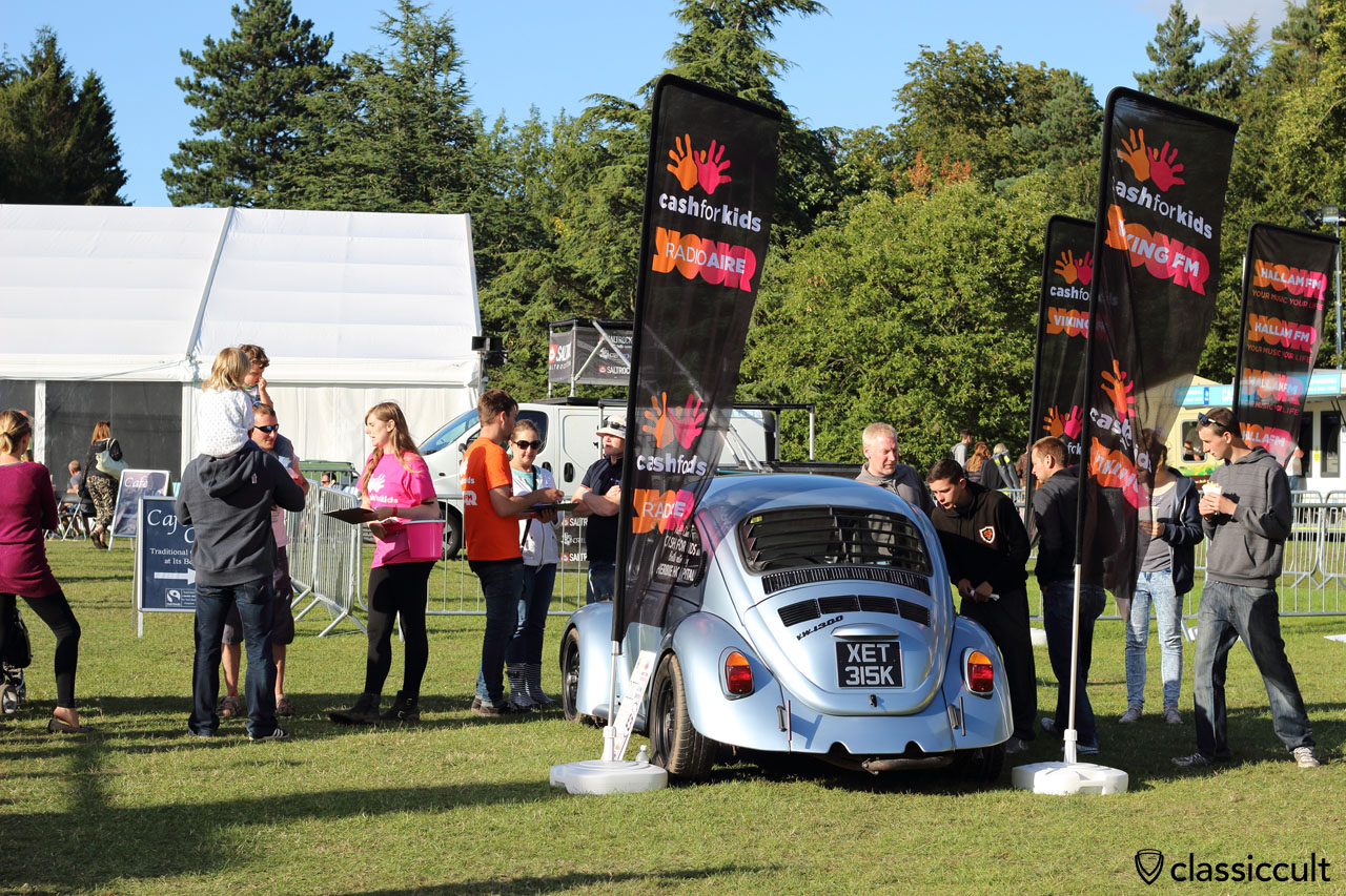 charity raffle, cash for kids and win a VW 1300 Beetle