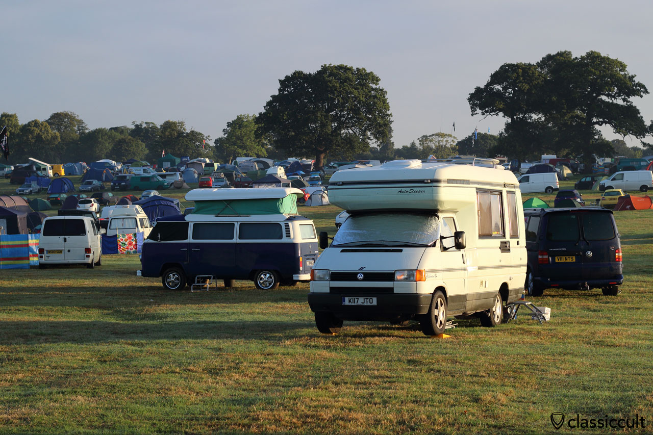 VW Festival campground sunday morning
