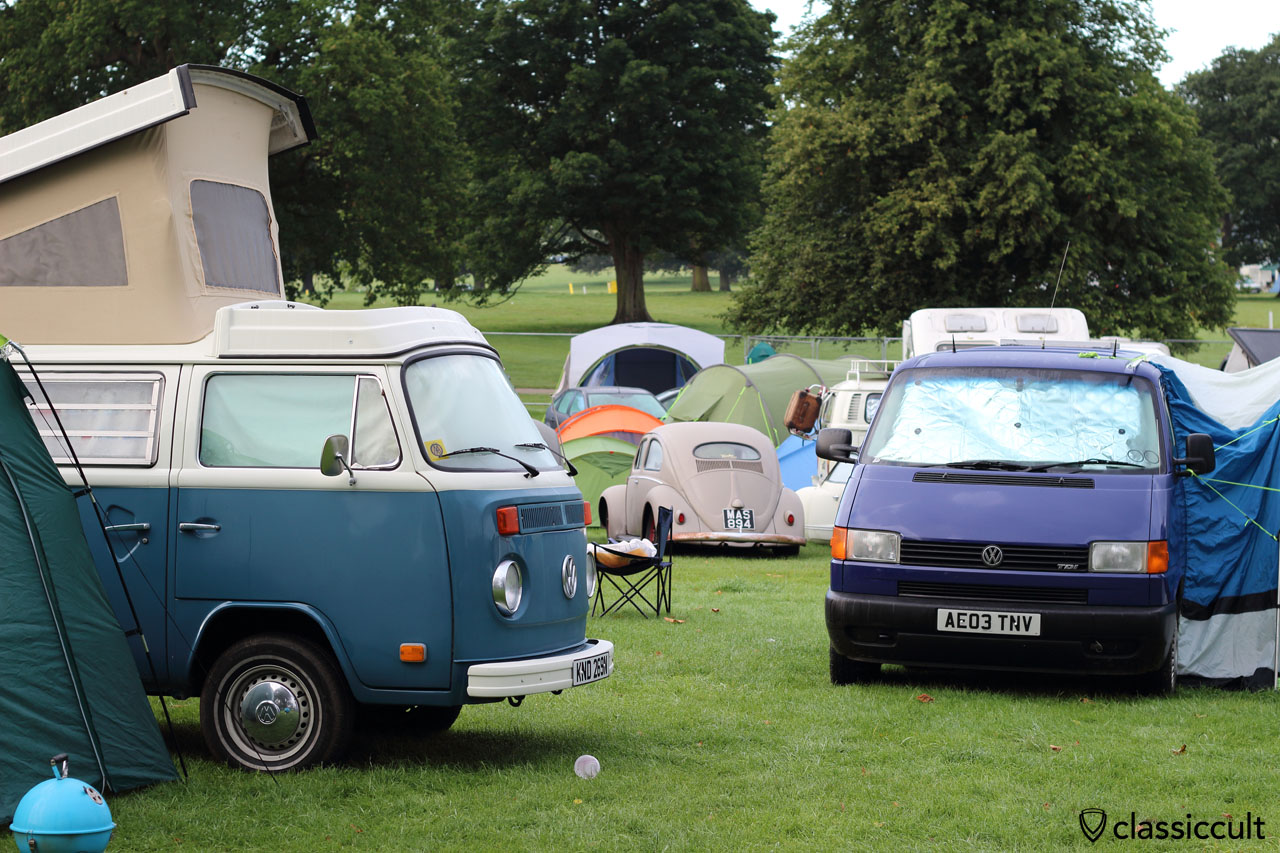 T2b Westy, Oval Bug, T4 Bus at VW Festival 2015